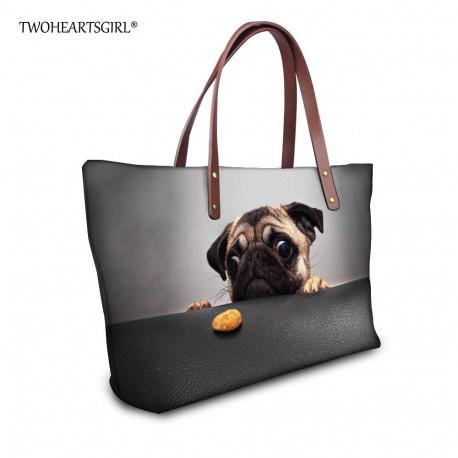 Dog Handbag Purse Pug Husky Pomsky Golden Retriever Shepherd