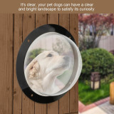 Dog Window for Fence Clear Dome Bubble