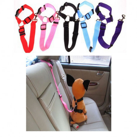 Dog Car Seat Belt Safety Belt Hooks on Headrest