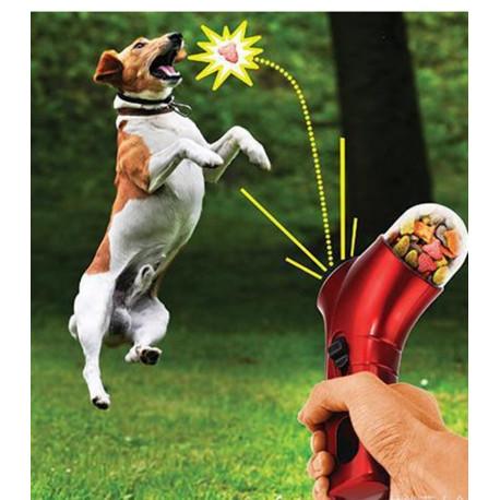 Dog Treat Launcher Feeder