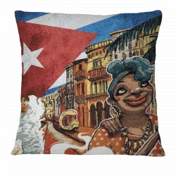 Love Cuba Pillow Case (Female Character)