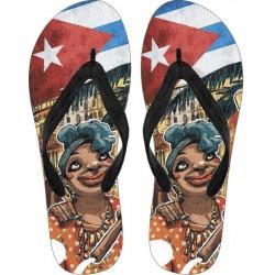 Love Cuba Flip Flops (Female Character)