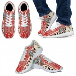 Love FMF Mexican Football Sneakers