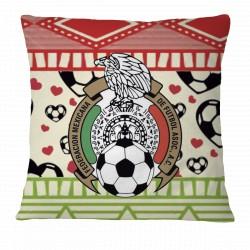Love FMF Mexican Football Pillow Case