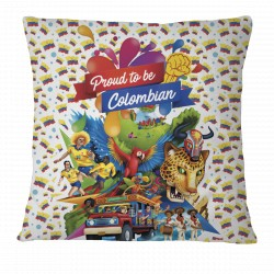 Proud to be Colombian Pillow Case