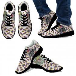 Proud to be Venezuelan Black Sneakers