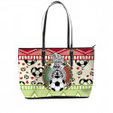 Love FMF Mexican Football Tote Bag