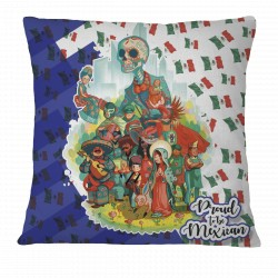 Proud to be Mexican Pillow Case