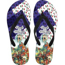 Proud to be Mexican Flip Flops