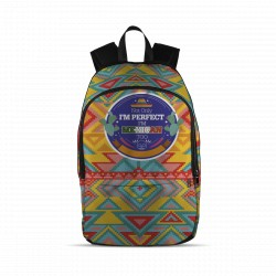"""Not only I´m Perfect, I´m Mexican Too"" Backpack"