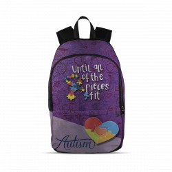 Autism ''Until All of the Pieces Fit'' Backpack