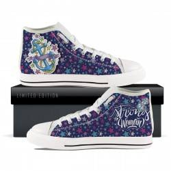 Strong Woman High Tops