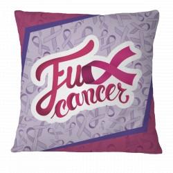 Fu** Cancer Pillow Case