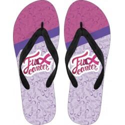 Fu** Cancer Flip Flops