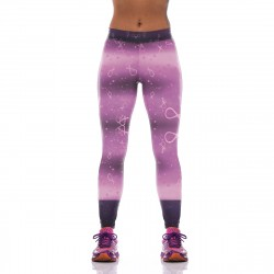 Fight Cancer with Pink Ribbon Leggings