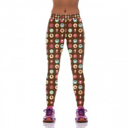 My Happiness Depends on Chocolate Leggings