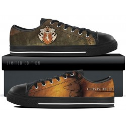 Baratheon Black Low Tops