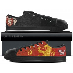 Lannister Black Low Tops