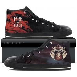 Targaryen Black High Tops