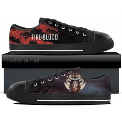 Targaryen Black Low Tops
