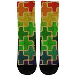 Autism Green Socks