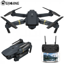 Eachine E58 WIFI FPV With Wide Angle HD Camera High Hold Mode Foldable Arm RC Quadcopter Drone RTF VS VISUO XS809HW JJRC H37Add