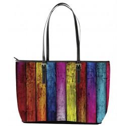 Autism Rainbow Tote Bag