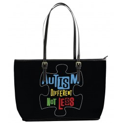 """Autism """"Different Not Less"""" Tote Bag"""