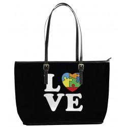 Autism Love Tote Bag