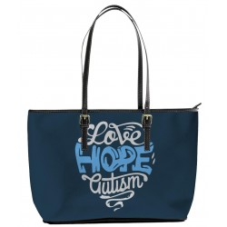 Autism Love and Hope Tote Bag