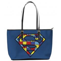 Autism Superman Tote Bag