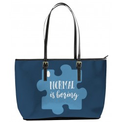 Autism Normal is Boring Tote Bag