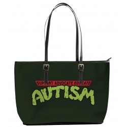 Support Advocate Educate Autism Tote Bag