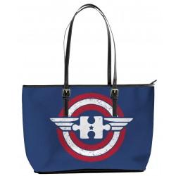 Autism Captain America Tote Bag