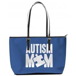 Autism Mom  Blue Tote Bag
