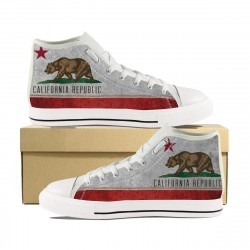 California Flag High Tops