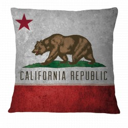 California Flag Pillow Case
