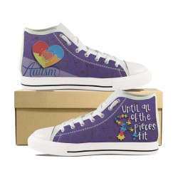Autism ''Until All of the Pieces Fit'' High Tops