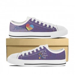 Autism ''Until All of the Pieces Fit'' Low Tops