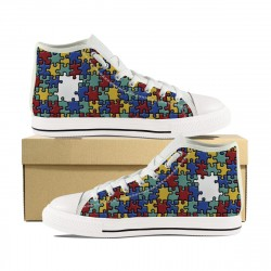 Autism Multi Color High Tops