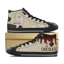 All you need is Chocolate! High Tops