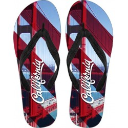 Love California Flip Flops