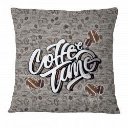 Coffee Time! Pillow Case