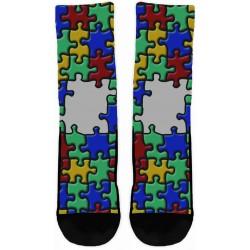Autism Multi Color Socks