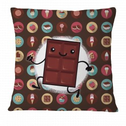 Happy Chocolate Bar! Pillow Case