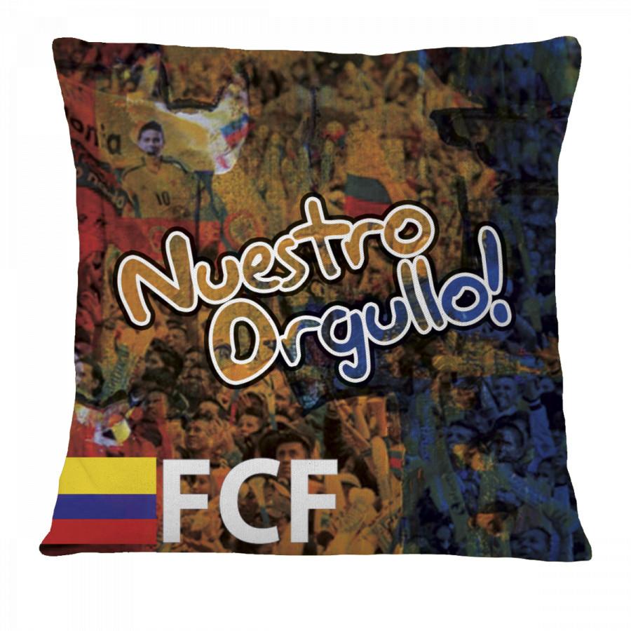 """""""NUESTRO ORGULLO! FCF Colombia"""" Pillow Case"""