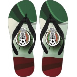 """MÁS UNIDOS! FMF México"" Flip Flops"