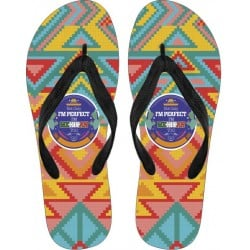 """""""Not only I´m Perfect, I´m Mexican Too"""" Flip Flops"""