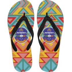 """Not only I´m Perfect, I´m Mexican Too"" Flip Flops"