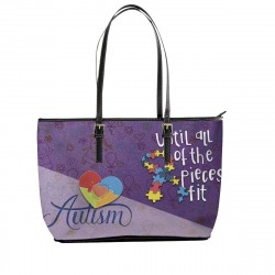 Autism ''Until All of the Pieces Fit'' Tote Bag